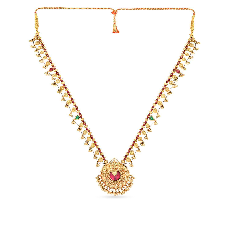 Marathi Bride Divine Necklace NEDICDTRLPA586