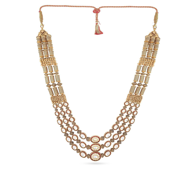 Gujarati Bride Ethnix Necklace NEGEANKDLLA001