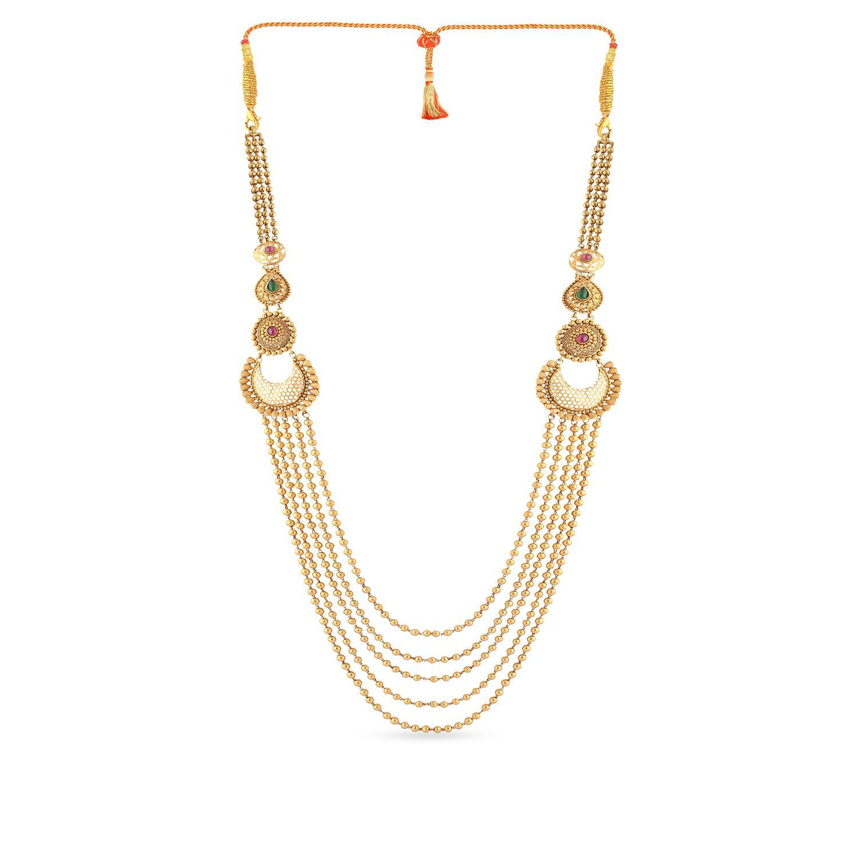 Marathi Bride Divine Necklace NEGEANRNLLA177