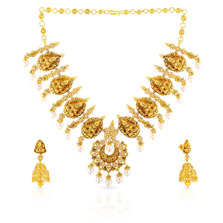 Era Uncut Diamond Necklace Set NSNK0007910