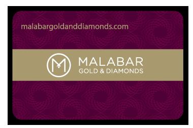 Malabar Gold & Diamonds Bulk Order Gift Card