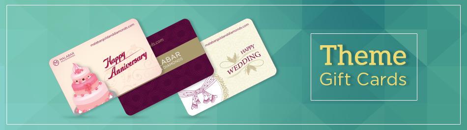 Malabar Gold and Diamonds Gift Card Template