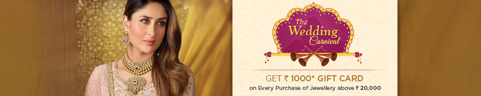 The Wedding Carnival Jewellery Offers